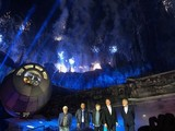 「SW:ギャラクシーズ・エッジ」オープニングセレモニーにH・フォード、M・ハミルら豪華キャスト集結