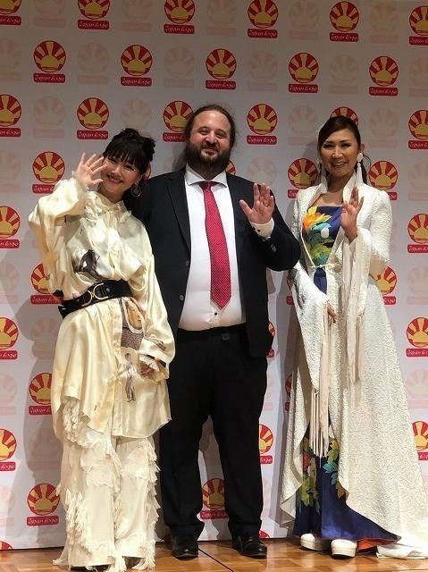 """""""エヴァ応援隊長""""高橋洋子「Japan Expo2019」でステージパフォーマンスを実施!"""