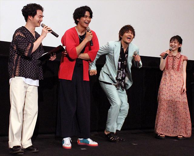 「小さな恋のうた」バンドメンバーが森永悠希のMCを絶賛、佐野勇斗「滑舌がいい」 - 画像6
