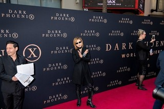 「X-MEN」ワールドプレミアに「X JAPAN」YOSHIKIが登場!「たまたまハリウッドにいた」