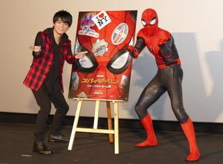 世界最速上映された「スパイダーマン」新作、徹底した情報管理に吹替え声優も驚き
