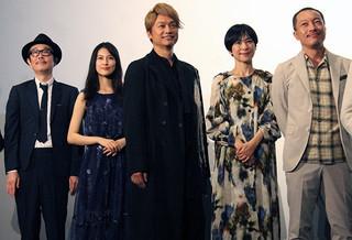 香取慎吾、バラエティ乗りの「凪待ち」初日に苦笑も万感「本当に幸せ者」