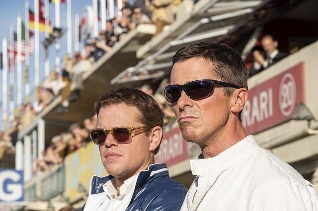 M・デイモン&C・ベールが伝説のレースに挑む!「フォードvsフェラーリ」予告完成