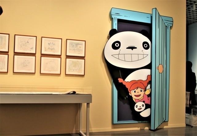 「パンダコパンダ」のレイアウトなど 初展示資料が多数