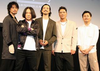 斎藤工×永野×金子ノブアキ×清水康彦×SWAY「チーム万力」が仕掛けた映画ハラスメント