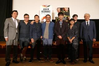 森崎ウィン、東南アジア映画の巨匠たちを前に緊張 夢は「アジア各国の映画に出ること」