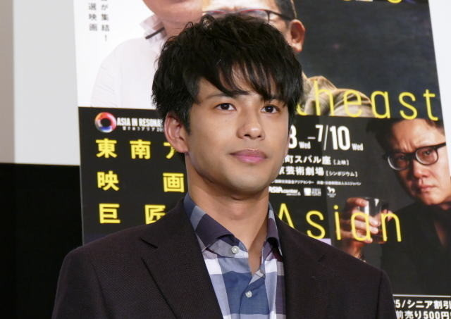 森崎ウィン、東南アジア映画の巨匠たちを前に緊張 夢は「アジア各国の映画に出ること」 - 画像1