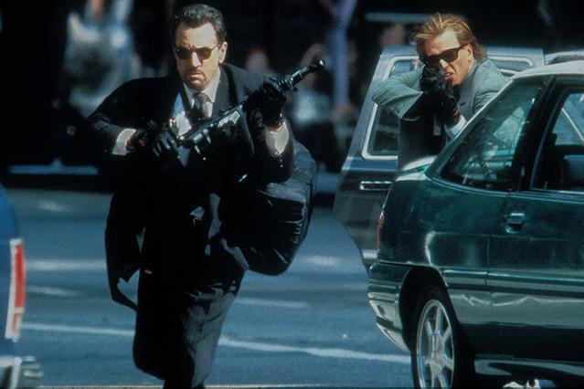 「ヒート」(1995)の一場面