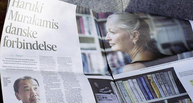 20年以上前から村上作品の翻訳を手がけるデンマーク人翻訳家を追う