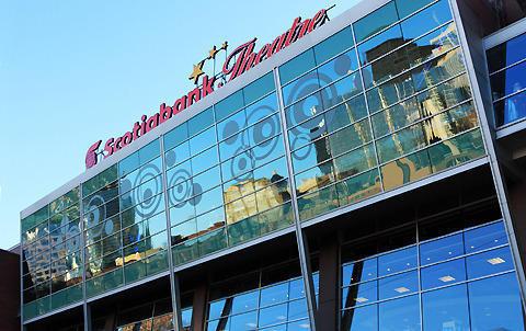 トロント国際映画祭の会場のひとつであるスコシアバンク・シアター