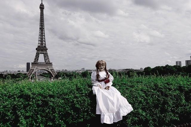 """アナベルちゃん、世界中を旅してついに…""""あの人形""""に反撃!衝撃写真を入手 - 画像1"""