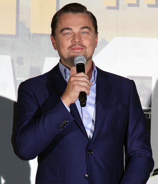 ディカプリオ「今日のファンは最高」、主演最新作ジャパンプレミアでご満悦