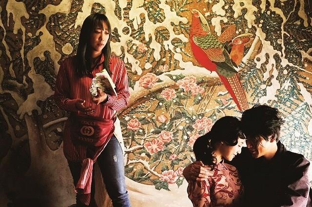 「人間失格」メイキング写真入手 蜷川実花監督が映し出す、気高く美しい女性たち