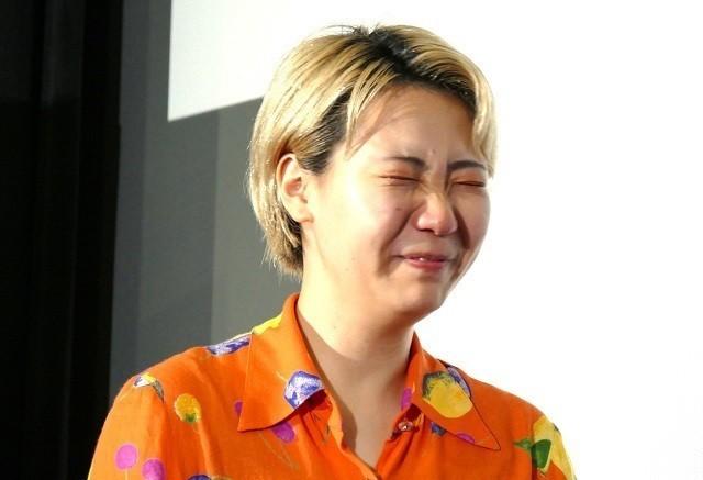 「おいしい家族」ふくだももこ監督、母からの手紙に感涙!主演・松本穂香が代読 - 画像6