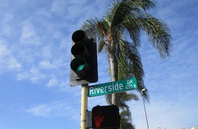 街並みが撮れず、パームツリーでご勘弁を