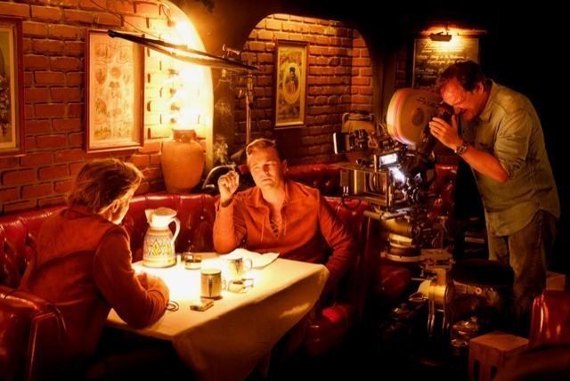 カサ・ベガでレオ&ブラピを撮るクエンティン