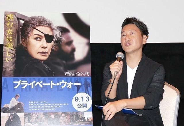 堀潤氏×安田菜津紀氏 実在した戦場記者を描く「プライベート・ウォー」を語る - 画像2
