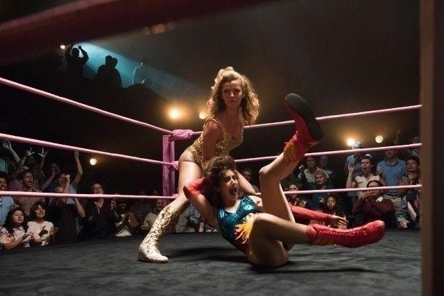 1980年代の女子プロレスが題材