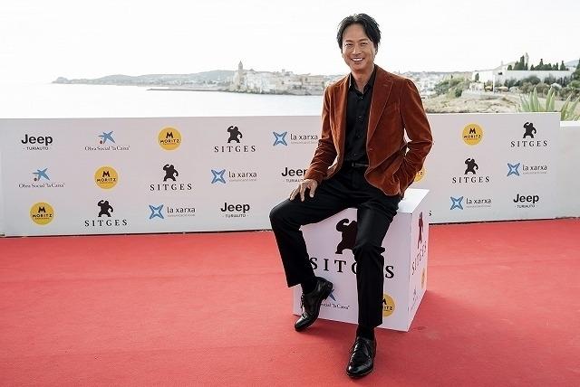 第52回シッチェス・カタロニア国際映画祭に 出席した椎名桔平