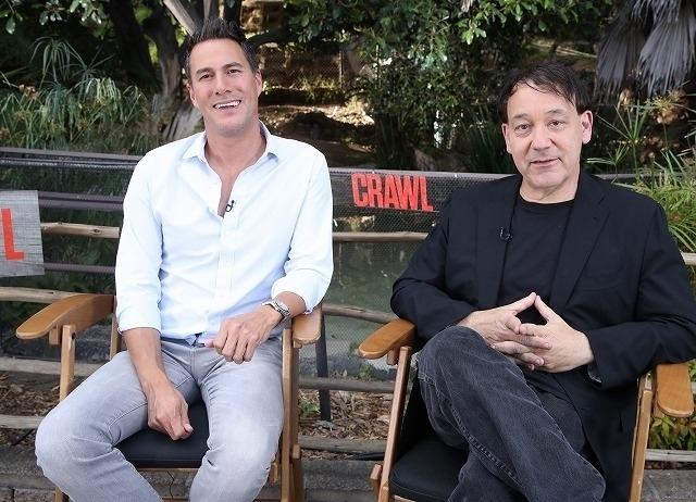 クレイグ・フローレス(左)、サム・ライミ