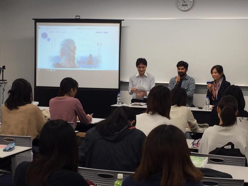 村上春樹作品の翻訳者を追うドキュメンタリー監督が来日 大学で特別講義