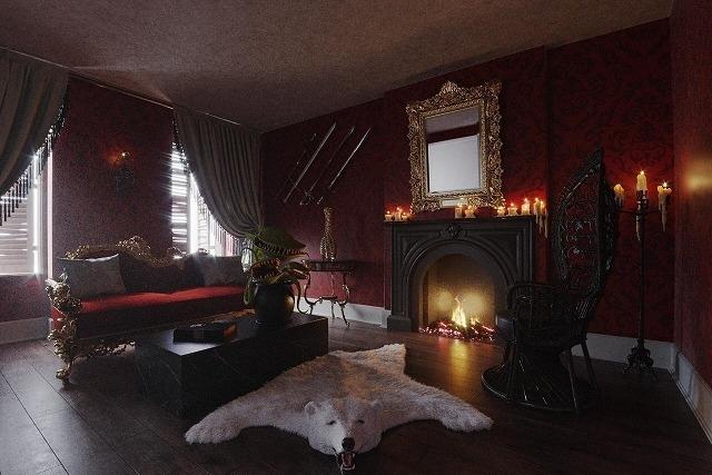 アダムス・ファミリーの館を再現した宿泊施設がオープン! 究極のハロウィン体験を提供