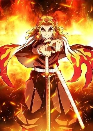 劇場版「鬼滅の刃」20年公開決定 特報第2弾&煉獄を描いたティザービジュアル披露