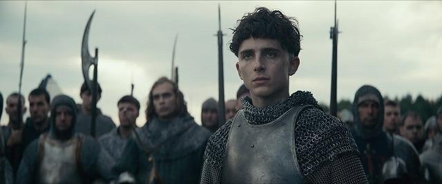 ティモシー・シャラメがヘンリー5世を演じる
