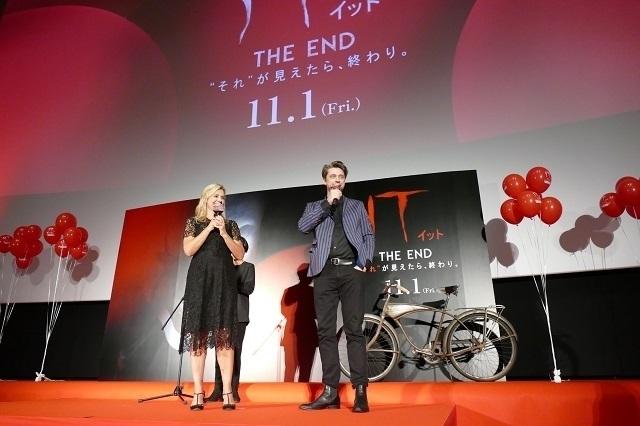 「IT イット THE END」プロデューサー&監督の姉弟が初来日!原作者キングは「僕らを信頼してくれた」