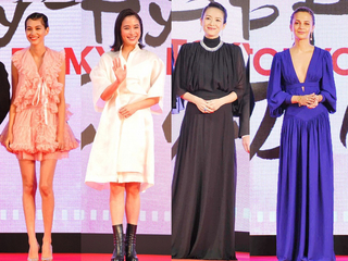 美の競演! 世界の女優陣が東京国際映画祭レッドカーペットに