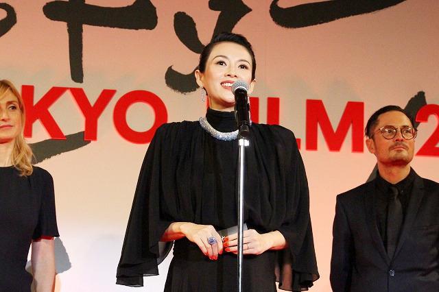 コンペティション部門の審査委員長を務めるチャン・ツィイー