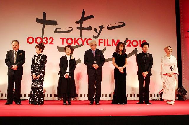 山田洋次監督と「男はつらいよ お帰り 寅さん」キャスト陣