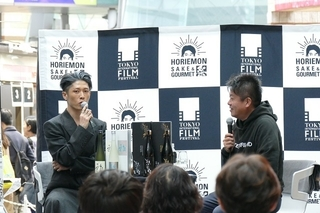 MIYAVI、自身の日本酒ブランドをPR「もっと世界に広めていきたい」