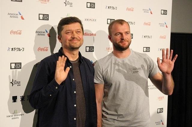 バレンチン・バシャノビチ監督、戦争を 経験した主演俳優アンドリー・リマルーク
