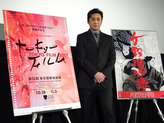 シネマ歌舞伎の魅力を語った松本幸四郎