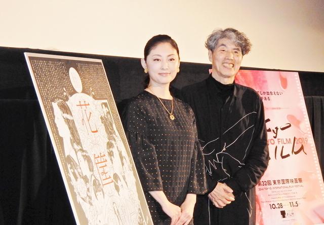 大林宣彦監督の撮影現場を語った常盤貴子(左)