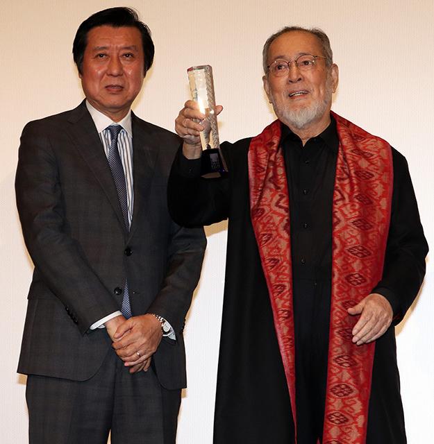 仲代達矢が東京国際映画祭特別功労賞を受賞