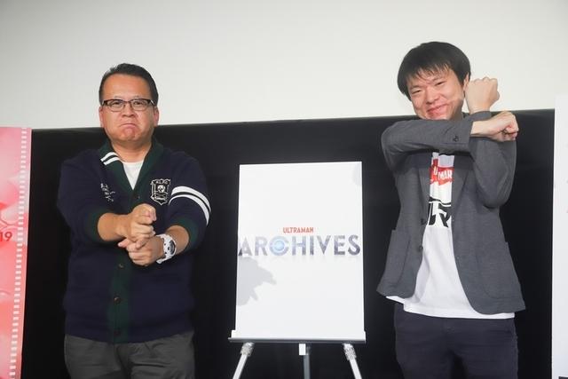 雨宮哲監督(右)と映画評論家の清水節氏