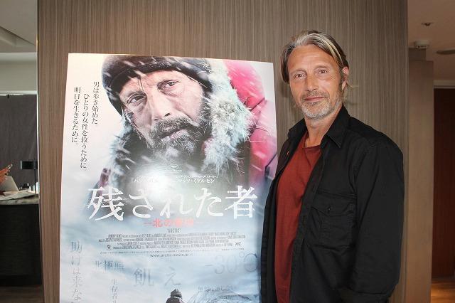 北極に取り残された男を演じたマッツ・ミケルセン