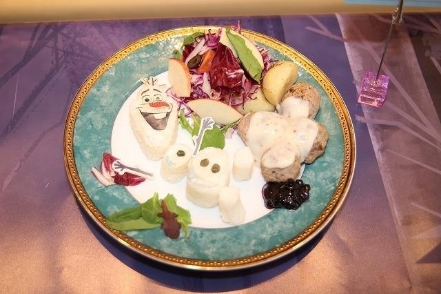 「アナと雪の女王2」スペシャルカフェに潜入! オラフ&サラマンダーをイメージしたフードも - 画像2