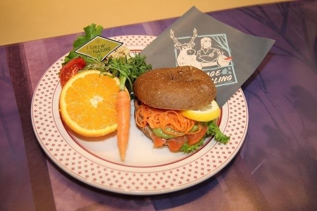 「アナと雪の女王2」スペシャルカフェに潜入! オラフ&サラマンダーをイメージしたフードも - 画像7