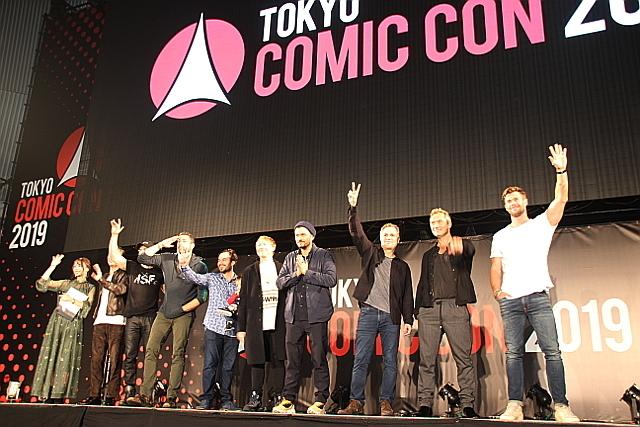 【東京コミコン2019】グランドフィナーレに来日セレブが集結!ラファロは「日本に引っ越したい」