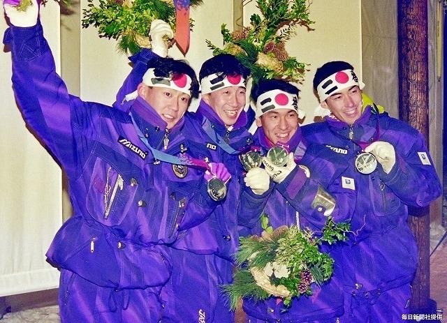 リレハンメル五輪では銀メダルを受賞した西方氏