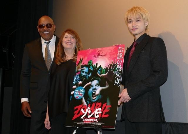 「ゾンビ」日本初公開版が40年ぶりに復元!レジェンド出演者が来日し公開を祝福