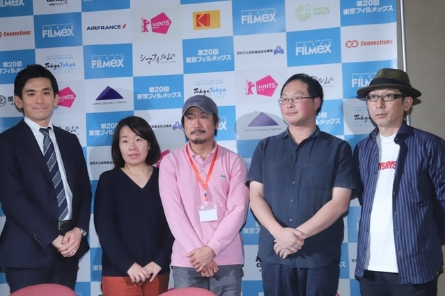 製作現場の在り方について語り合った 深田晃司監督、パク・ジョンボム監督ら