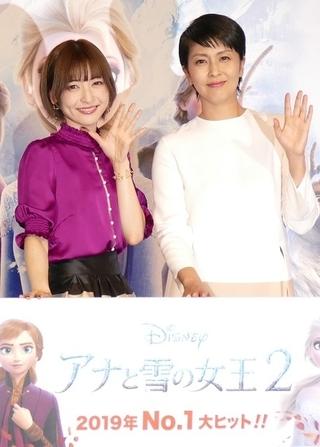 """松たか子、「アナ雪2」エルサ役続投に「不安あった」 """"妹""""神田沙也加と大ヒットに感謝"""