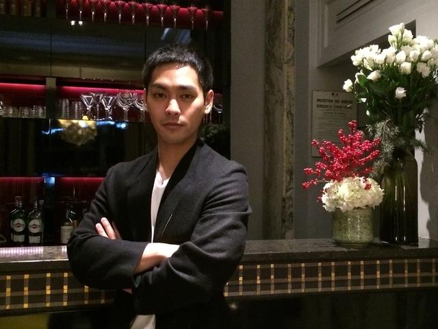パリの現代日本映画祭キノタヨで映画.comの取材に応じた柳楽優弥