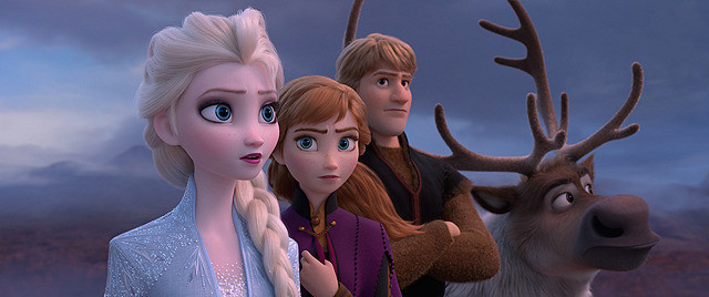 最多8部門にノミネートされた 「アナと雪の女王2」