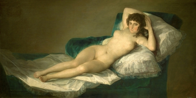 ゴヤ「裸のマハ」
