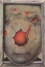 『ノスタルジア』 ポスター:スタシス・エイドリゲヴィチウス(1989年) 武蔵野美術大学 美術館・図書館所蔵